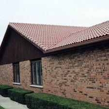 High Barrel Roof Tile in Custom Concrete Tile – 20