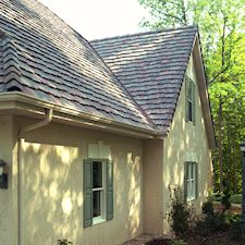 Custom Brushed Roof Tile
