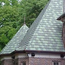 Slate Roof Styling in Custom Concrete Tile – 61