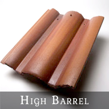 Vande Hey Raleigh High Barrel Roof Tiles
