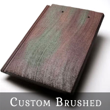 Custom Brushed Roof Tile Crafting Services