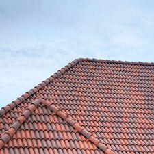 High Barrel Roof Tile in Custom Concrete Tile – 11