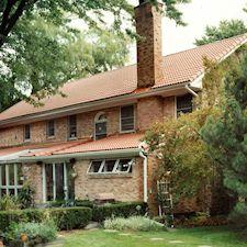 High Barrel Roof Tile in Custom Concrete Tile – 12