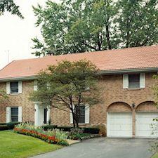 High Barrel Roof Tile in Custom Concrete Tile – 13