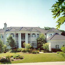 High Barrel Roof Tile in Custom Concrete Tile – 14