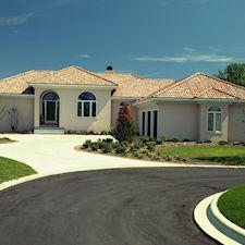 High Barrel Roof Tile in Custom Concrete Tile – 6