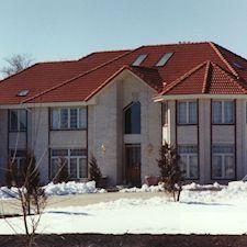 High Barrel Roof Tile in Custom Concrete Tile – 17