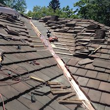 Valley Flashing Replacement On Tile Roof