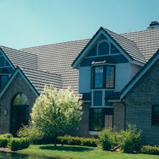 Slate Roof Styling in Custom Concrete Tile – 16