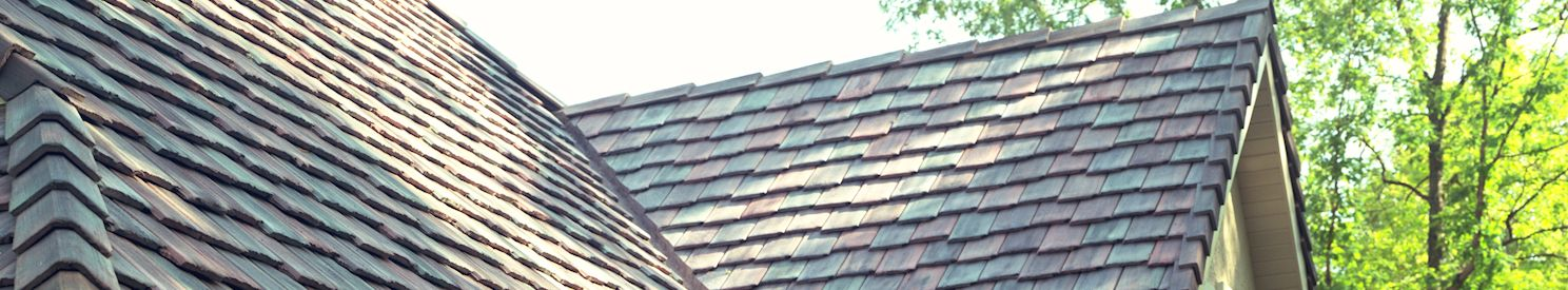 Custom Brushed Roof Tiles