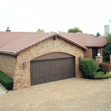 High Barrel Roof Tile in Custom Concrete Tile – 19