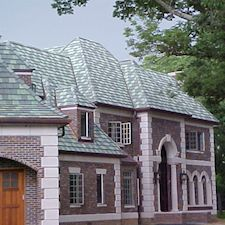 Cotswold Stone Roof Tile in Custom Concrete Tile – 6