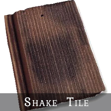 Vande Hey Raleigh Shake Roof Tiles