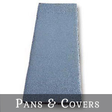 Pans & Covers for Gutters