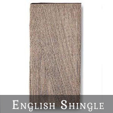 English Shingle Concrete Roof Tiles