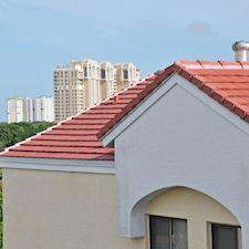 Slate Roof Styling in Custom Concrete Tile – 63