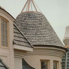 Shake Roof Tile in Custom Concrete Tile – 11