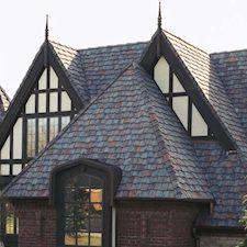 Shake Roof Tile in Custom Concrete Tile – 12
