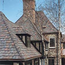 Shake Roof Tile in Custom Concrete Tile – 4