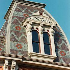 Slate Roof Styling in Custom Concrete Tile – 25