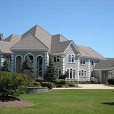 Slate Roof Styling in Custom Concrete Tile – 1