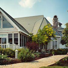 Slate Roof Styling in Custom Concrete Tile – 30