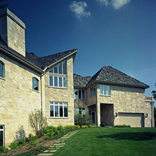 Slate Roof Styling in Custom Concrete Tile – 9