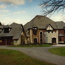 Slate Roof Styling in Custom Concrete Tile – 11