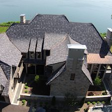 Slate Roof Styling in Custom Concrete Tile – 3