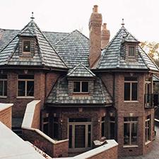 Slate Roof Styling in Custom Concrete Tile – 14