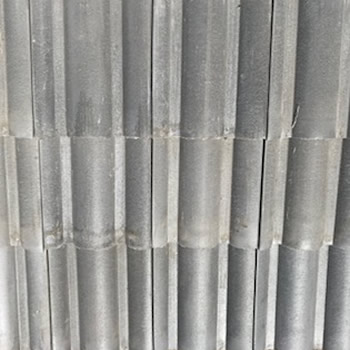 In Stock Roofing Tiles - Light Charcoal Gray Spanish